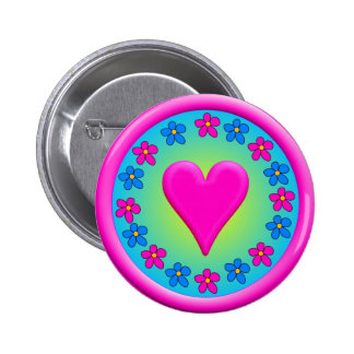 Hearty Fact 6 Cm Round Badge