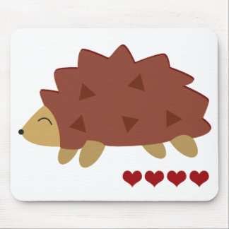 Hearty Hedgehog Mouse Mat