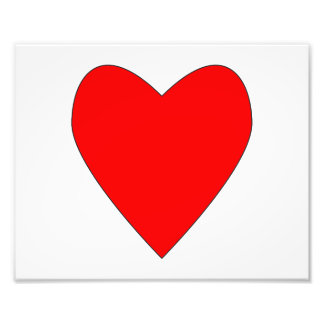 hearty red heart art photo