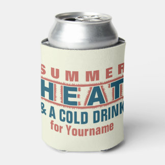 HEAT custom can cooler