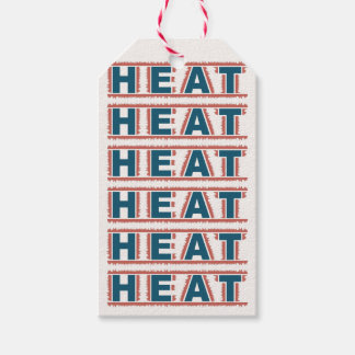 HEAT custom gift tags