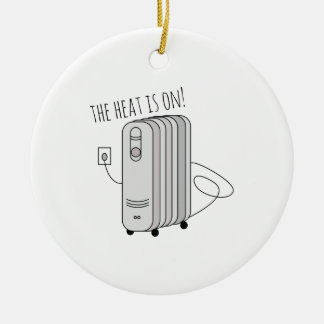 Heat Is On Christmas Ornament