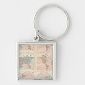 Heat over globe key ring