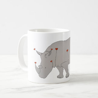 Heat Rhino Coffee Mug