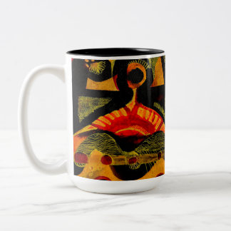 Heat. Two-Tone Coffee Mug