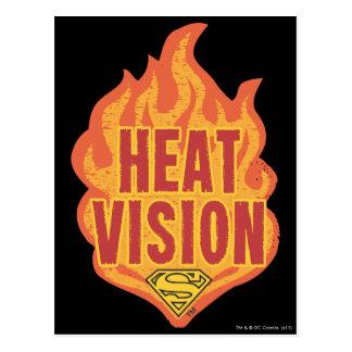 Heat Vision Postcard