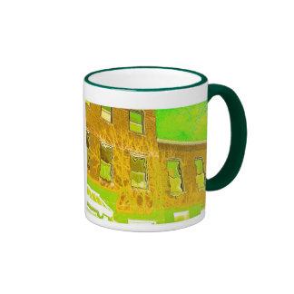 heat wave ringer coffee mug