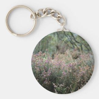 Heather and Wild Grass Key Ring