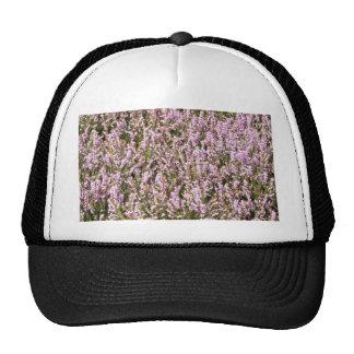 Heather Flowers Beautiful View Mesh Hats
