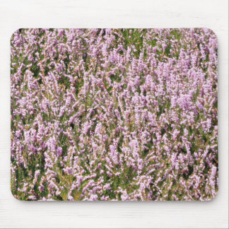 Heather Flowers Beautiful View Mouse Pad