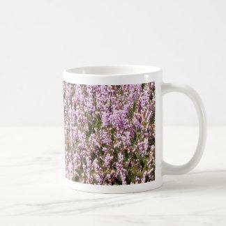 Heather Flowers Beautiful View Classic White Coffee Mug