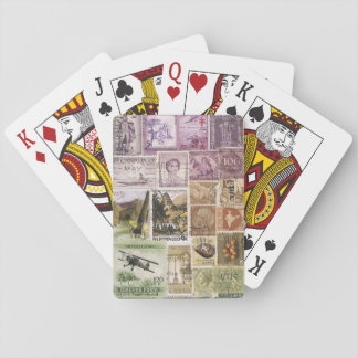 Heather Landscape Playing Cards, Vintage Travel Playing Cards