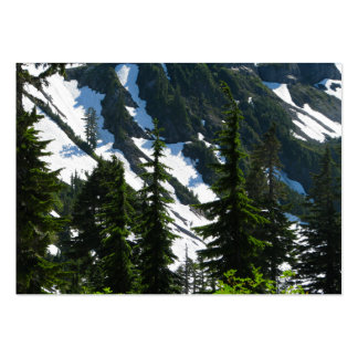 Heather Meadows Trees Pack Of Chubby Business Cards