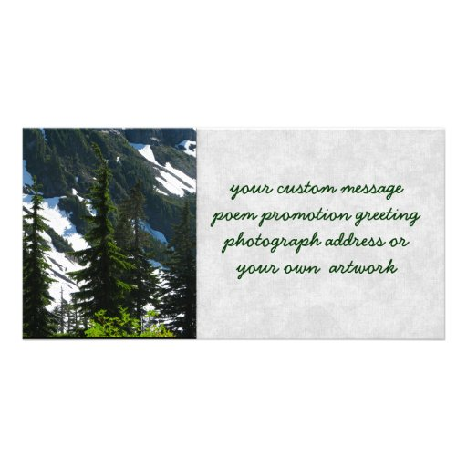 Heather Meadows Trees Picture Card