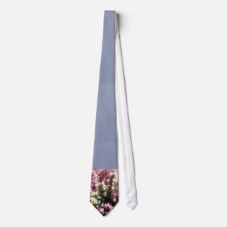 Heather Sprigs/ Slate BlueTie Tie