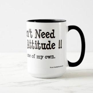 Heather's attitude mug