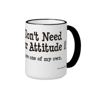 Heather's attitude ringer mug