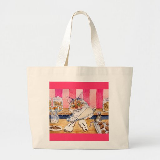 Heather's Bakery and Candy Store tote bag