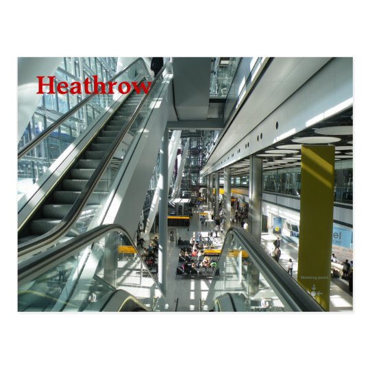 Heathrow Postcard