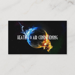 Air Conditioning Business Cards Zazzle Uk