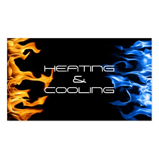 Collections of air cooling business cards heating and air conditioning cooling business card reheart Image collections