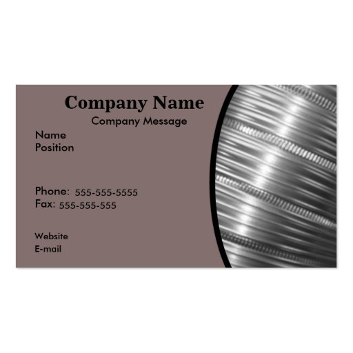 Heating and Cooling Business Card Template