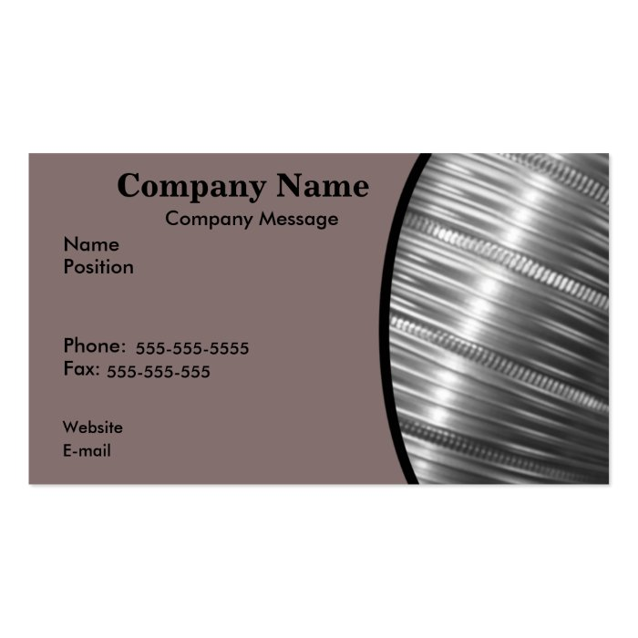 Heating and Cooling Pack Of Standard Business Cards