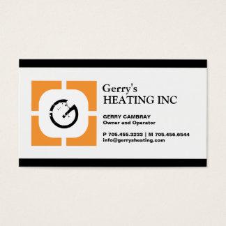 HEATING COMPANY BUSINESS CARD