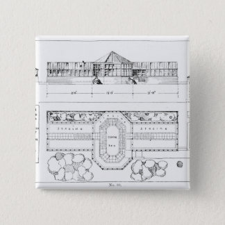 Heating system for a Hothouse, Conservatory and Gr 15 Cm Square Badge