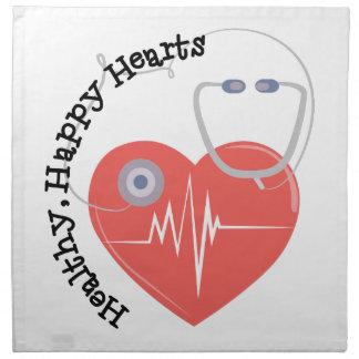 Heatlty Hearts Napkins