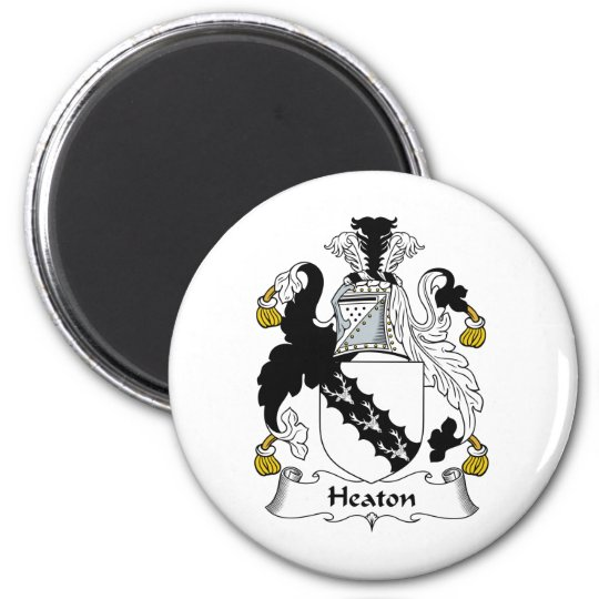 Heaton Family Crest Magnet