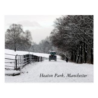 Heaton Park, Manchester Postcard