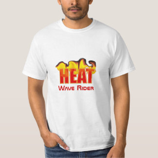 Heatwave Rider With Flames Low Cost Value T Shirt