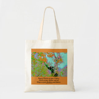 heaven and earth canvas bags