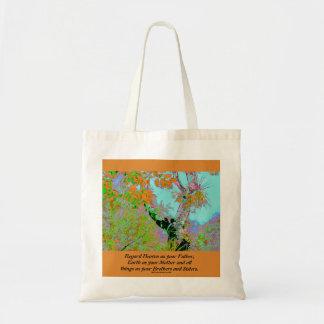 heaven and earth budget tote bag