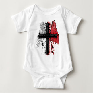 Heaven and Hell Baby Bodysuit