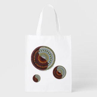 Heaven and Hell Reusable Grocery Bag Reusable Grocery Bag