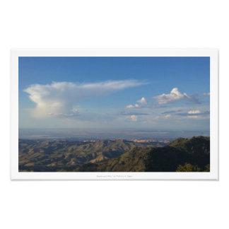 """Heaven and Hills,"" Nature Decor Photographic Print"