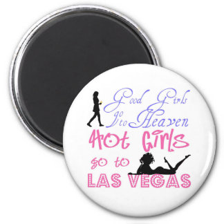 Heaven and Las Vegas Fridge Magnets