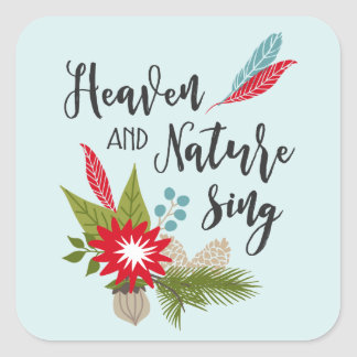 Heaven and Nature | Holiday Stickers