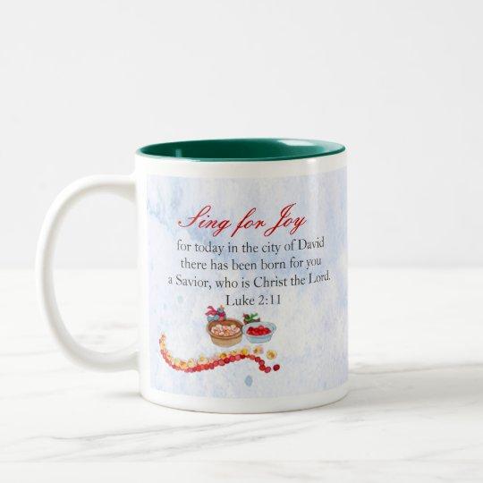Heaven and Nature Sing Two-Tone Coffee Mug