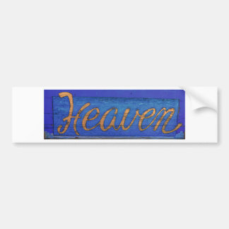 Heaven Bumper Sticker