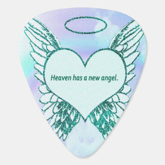 Heaven has a New Angel Plectrum
