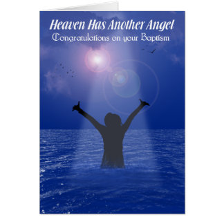 HEAVEN HAS ANOTHER ANGEL Female Greeting Cards