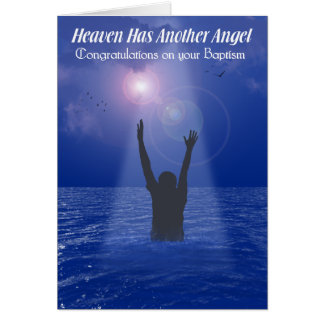 HEAVEN HAS ANOTHER ANGEL MALE GREETING CARDS
