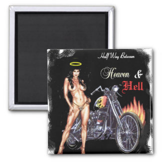heaven & hell magnets