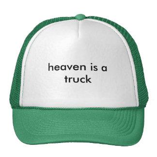heaven is a truck hats