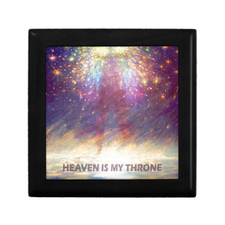 HEAVEN IS MY THRONE - EARTH IS MY FOOTSTOOL GIFT BOX
