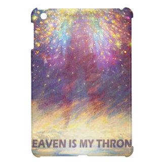 HEAVEN IS MY THRONE - EARTH IS MY FOOTSTOOL iPad MINI COVERS