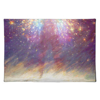 HEAVEN IS MY THRONE - EARTH IS MY FOOTSTOOL PLACEMAT